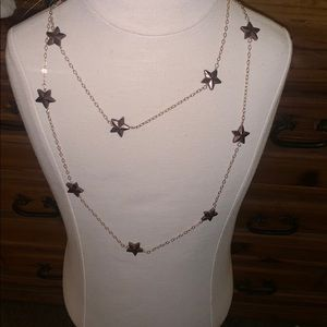 Vintage Boho Celestial Star necklace